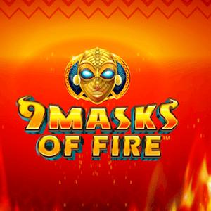 Microgaming veröffentlich den Spielautomaten 9 Masks of Fire